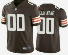 Cheap Men's Cleveland Browns Customized 2020 New Brown Team Color Vapor Untouchable NFL Stitched Limited Jersey