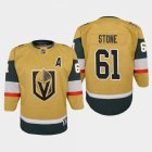 Cheap Vegas Golden Knights #61 Mark Stone Youth 2020-21 Player Alternate Stitched NHL Jersey Gold