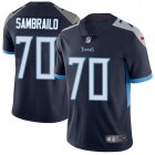 Cheap Nike Titans #70 Ty Sambrailo Navy Blue Team Color Youth Stitched NFL Vapor Untouchable Limited Jersey