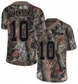 Cheap Nike Eagles #10 DeSean Jackson Camo Men's Stitched NFL Limited Rush Realtree Jersey