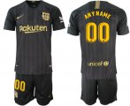 Cheap Barcelona Personalized Black Soccer Club Jersey