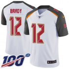 Cheap Nike Buccaneers #12 Tom Brady White Men's Stitched NFL 100th Season Vapor Untouchable Limited Jersey