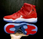 Cheap Air Jordan 11 Retro Red Shoes Box Red/white-black