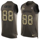 Cheap Nike Jaguars #88 Tyler Eifert Green Men's Stitched NFL Limited Salute To Service Tank Top Jersey