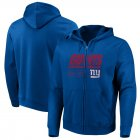 Cheap New York Giants Majestic Hyper Stack Full-Zip Hoodie Royal