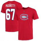 Cheap Montreal Canadiens #67 Max Pacioretty Reebok Name and Number Player T-Shirt Red