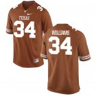 Cheap Men's Texas Longhorns 34 Ricky Williams Orange Nike College Jersey