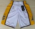 Cheap Los Angeles Lakers White Short