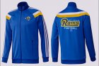 Cheap NFL Los Angeles Rams Victory Jacket Blue