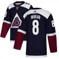 Cheap Adidas Avalanche #8 Cale Makar Navy Alternate Authentic Stitched Youth NHL Jersey