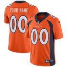 Cheap Nike Denver Broncos Customized Orange Team Color Stitched Vapor Untouchable Limited Youth NFL Jersey