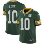 Cheap Nike Packers #10 Jordan Love Green Team Color Youth 100th Season Stitched NFL Vapor Untouchable Limited Jersey