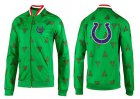 Cheap NFL Indianapolis Colts Team Logo Jacket Green