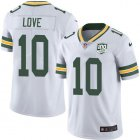 Cheap Nike Packers #10 Jordan Love White Youth 100th Season Stitched NFL Vapor Untouchable Limited Jersey