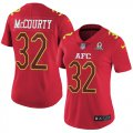 Cheap Nike Patriots #32 Devin McCourty Red Women's Stitched NFL Limited AFC 2017 Pro Bowl Jersey