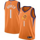 Cheap Suns #1 Devin Booker Orange Basketball Swingman Statement Edition 2019-2020 Jersey
