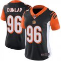 Cheap Nike Bengals #96 Carlos Dunlap Black Team Color Women's Stitched NFL Vapor Untouchable Limited Jersey