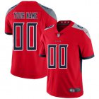 Cheap Nike Tennessee Titans Customized Red Men's Stitched NFL Limited Inverted Legend Jersey