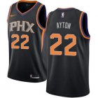 Cheap Women's Nike Phoenix Suns #22 Deandre Ayton Black NBA Swingman Statement Edition Jersey