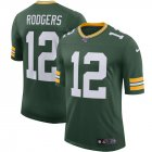 Cheap Green Bay Packers #12 Aaron Rodgers Nike 100th Season Vapor Limited Jersey Green