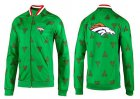 Cheap NFL Denver Broncos Team Logo Jacket Green