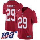 Cheap Nike Giants #29 Xavier McKinney Red Youth Stitched NFL Limited Inverted Legend 100th Season Jersey