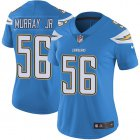 Cheap Nike Chargers #56 Kenneth Murray Jr Electric Blue Alternate Women's Stitched NFL Vapor Untouchable Limited Jersey