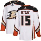 Cheap Adidas Ducks #15 Ryan Getzlaf White Road Authentic Youth Stitched NHL Jersey
