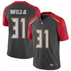 Cheap Nike Buccaneers #31 Antoine Winfield Jr. Gray Men's Stitched NFL Limited Inverted Legend Jersey