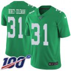 Cheap Nike Eagles #31 Nickell Robey-Coleman Green Men's Stitched NFL Limited Rush 100th Season Jersey