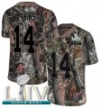 Cheap Nike Chiefs #14 Sammy Watkins Camo Super Bowl LIV 2020 Men's Stitched NFL Limited Rush Realtree Jersey