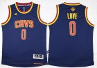 Cheap Youth Cleveland Cavaliers #0 Kevin Love Navy Blue 2016 The NBA Finals Patch Jersey