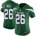 Cheap Nike Jets #26 Le'Veon Bell Green Team Color Women's Stitched NFL Vapor Untouchable Limited Jersey