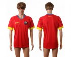 Cheap Romania Blank Away Soccer Country Jersey