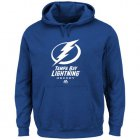 Cheap Tampa Bay Lightning Majestic Critical Victory VIII Fleece Hoodie Royal Blue