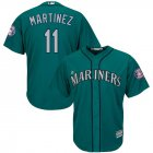Cheap Seattle Mariners #11 Edgar Martinez Majestic 2019 Hall of Fame Induction Alternate Cool Base Player Jersey Northwest Green