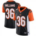 Cheap Nike Bengals #36 Shawn Williams Black Team Color Men's Stitched NFL Vapor Untouchable Limited Jersey
