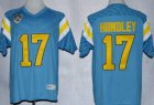 Cheap UCLA Bruins #17 Brett Hundley Light Blue Jersey