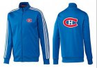 Cheap NHL Montreal Canadiens Zip Jackets Blue-2