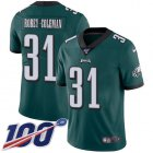 Cheap Nike Eagles #31 Nickell Robey-Coleman Green Team Color Men's Stitched NFL 100th Season Vapor Untouchable Limited Jersey