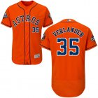 Cheap Astros #35 Justin Verlander Orange Flexbase Authentic Collection 2019 World Series Bound Stitched MLB Jersey