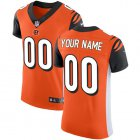 Cheap Nike Cincinnati Bengals Customized Orange Alternate Stitched Vapor Untouchable Elite Men's NFL Jersey