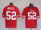 Cheap 49ers #52 Patrick Willis Stitched Red NFL Jersey