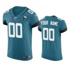 Cheap Jacksonville Jaguars Custom Teal 25th Season Vapor Elite Stitched NFL Jersey