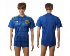 Cheap Ukraine Blank Away Soccer Country Jersey