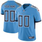 Cheap Nike Tennessee Titans Customized Light Blue Team Color Stitched Vapor Untouchable Limited Men's NFL Jersey