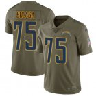 Cheap Nike Chargers #75 Bryan Bulaga Olive Youth Stitched NFL Limited 2017 Salute To Service Jersey