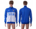 Cheap Italy Away Soccer Jackets Blue