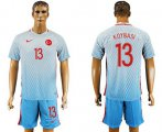 Cheap Turkey #13 Koybasi Away Soccer Country Jersey