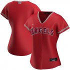 Cheap Los Angeles Angels Nike Women's Alternate 2020 MLB Team Jersey Red